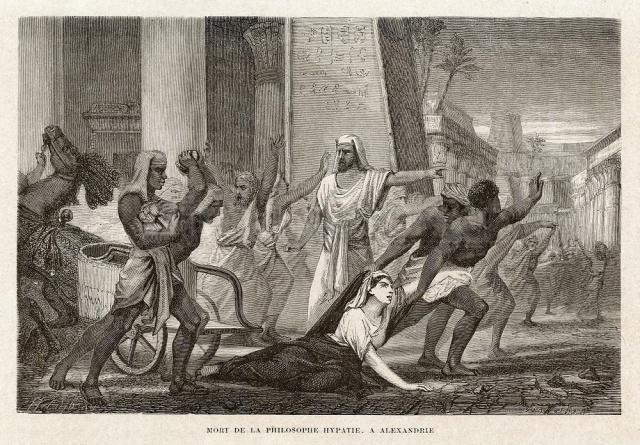 Bildergebnis für mord von hypatia von alexandria